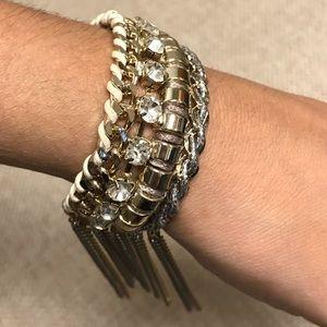 Gold express bracelet